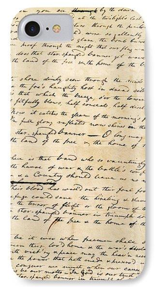 Star Spangled Banner 1814 Phone Case by Granger