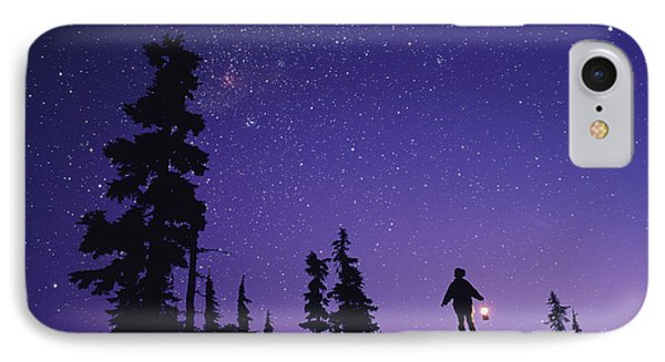 Starry Sky Phone Case by David Nunuk