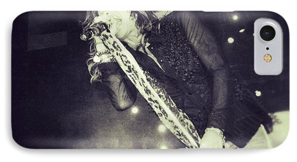 Steven Tyler In Concert Phone Case by Traci Cottingham