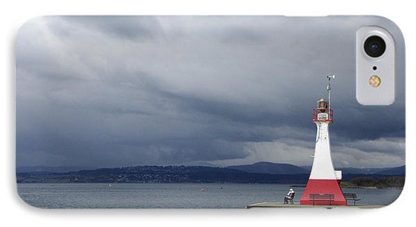 IPhone Case featuring the photograph Stormwatch by Marilyn Wilson