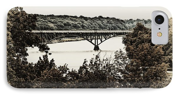 Strawberry Mansion Bridge From Laurel Hill Phone Case by Bill Cannon