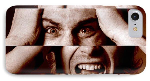 Stressed Man IPhone Case