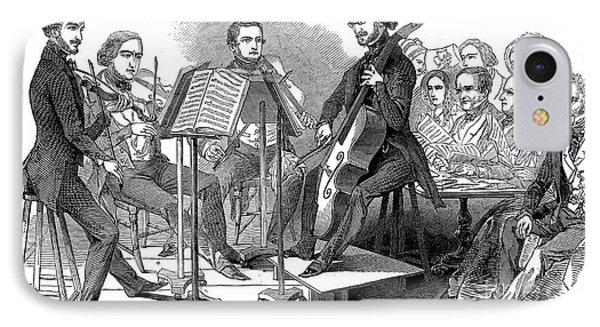 String Quartet, 1846 Phone Case by Granger