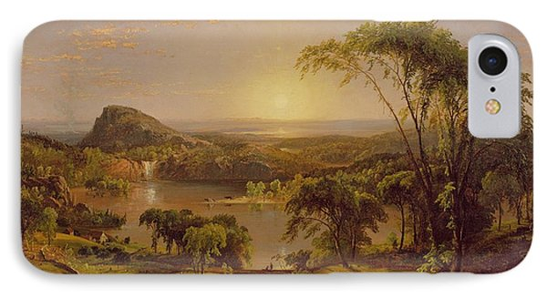 Summer Lake Ontario IPhone Case by Jasper Francis Cropsey