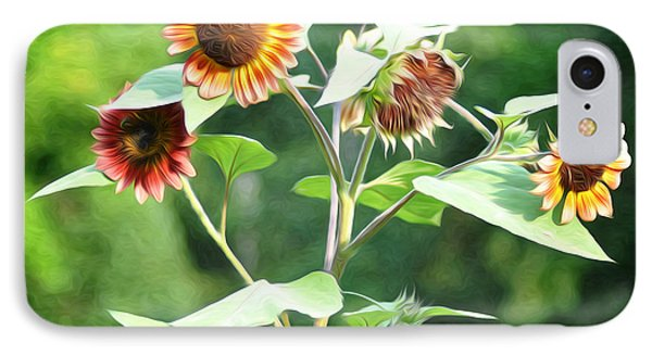 Sunflower Power Phone Case by Bill Cannon