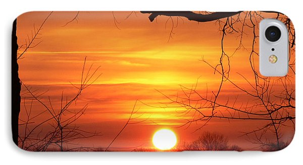 Sunrise In Tennessee IPhone Case by EricaMaxine  Price