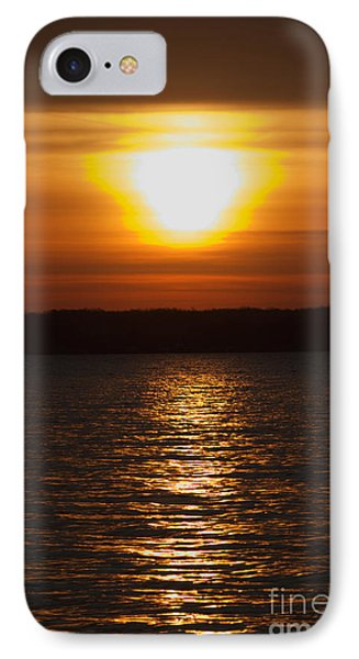 IPhone Case featuring the photograph Sunrise On Seneca Lake by William Norton