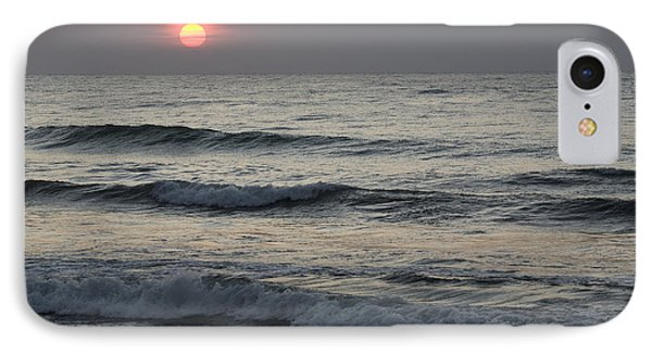 Sunrise Over Arabian Sea Hawf Protected Phone Case by Sebastian Kennerknecht