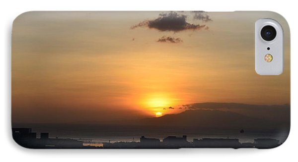 Sunset Upon The Ocean  IPhone Case