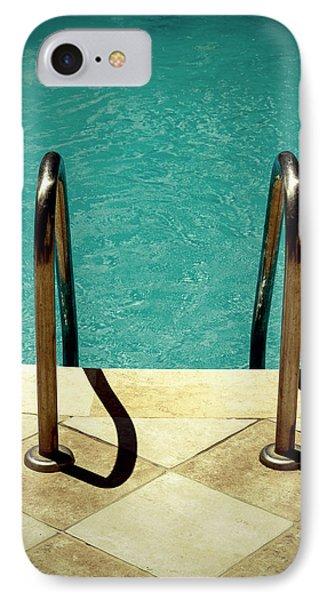 Swimming Pool IPhone Case by Joana Kruse