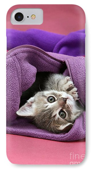Tabby Kitten Phone Case by Jane Burton