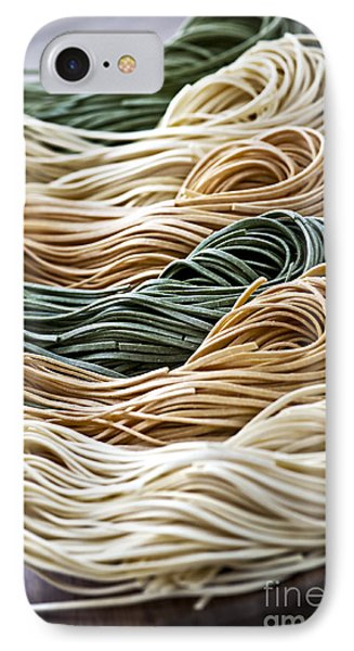 Spinach iPhone 7 Case - Tagliolini Pasta by Elena Elisseeva