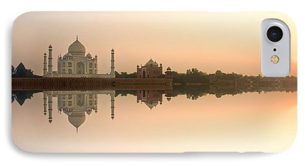 IPhone Case featuring the photograph Taj Mahal  by Luciano Mortula