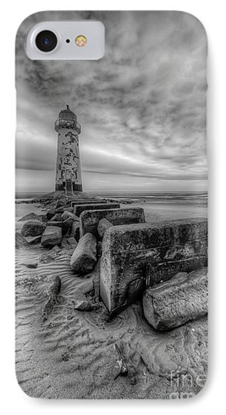 Talacre Lighthouse Phone Case by Adrian Evans