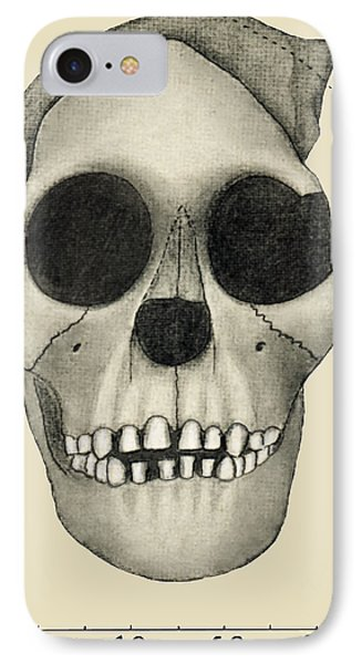 Taung Child Skull Phone Case by Sheila Terry