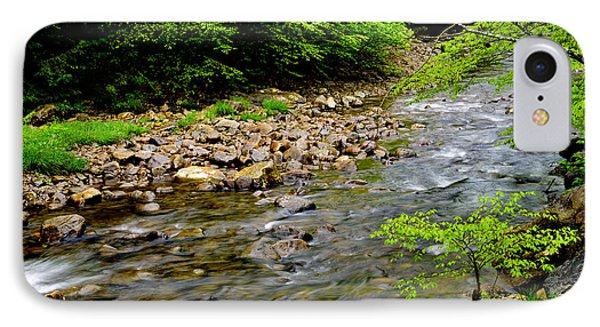 Tea Creek Monongahela National Forest Phone Case by Thomas R Fletcher