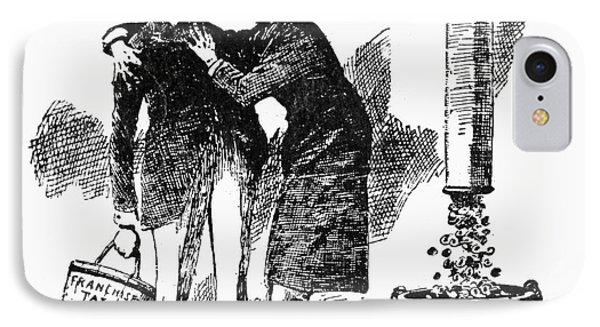 Teddy Roosevelt Cartoon Phone Case by Granger