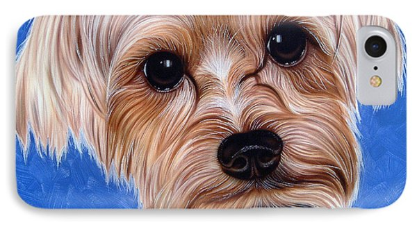 Terrier IPhone Case by Dan Menta