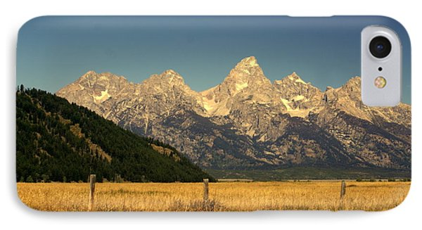 Tetons 3 Phone Case by Marty Koch