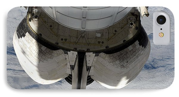 The Aft Portion Of The Space Shuttle Phone Case by Stocktrek Images