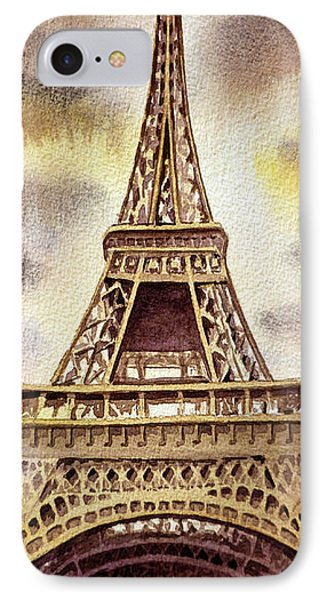 The Eiffel Tower  Phone Case by Irina Sztukowski