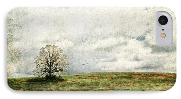 The Lone Tree Phone Case by Darren Fisher