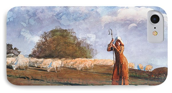The Young Shepherdess IPhone Case