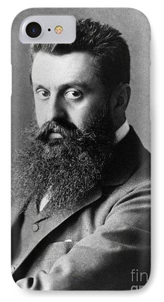 Theodor Herzl (1860-1904) Phone Case by Granger