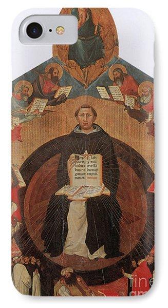 Thomas Aquinas, Italian Philosopher Phone Case by Photo Researchers