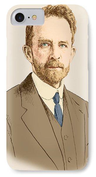 Thomas Hunt Morgan, American Geneticist Phone Case by Science Source