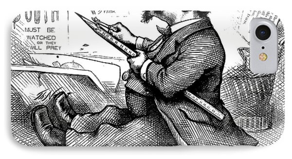 Thomas Nast (1840-1902) Phone Case by Granger