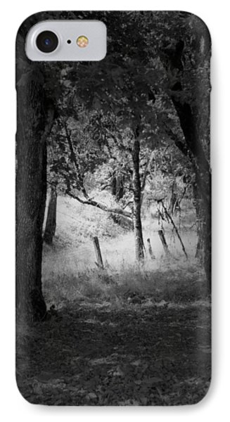Through The Trees  IPhone Case by Kathleen Grace