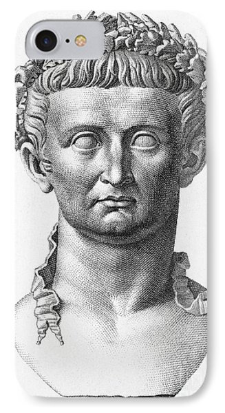 Tiberius (42 B.c.- 37 A.d.) Phone Case by Granger