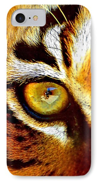 Tigers Eye IPhone Case by Marlo Horne