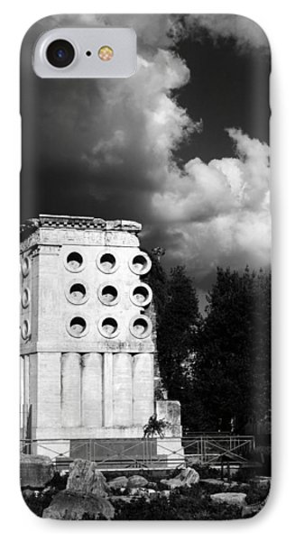Tomb Of Eurysaces The Baker Phone Case by Fabrizio Troiani