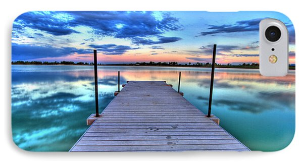 Tranquil Dock IPhone Case by Scott Mahon