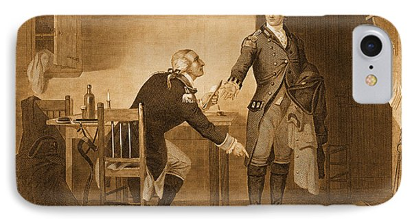 Treason Of Benedict Arnold, 1780 Phone Case by Photo Researchers