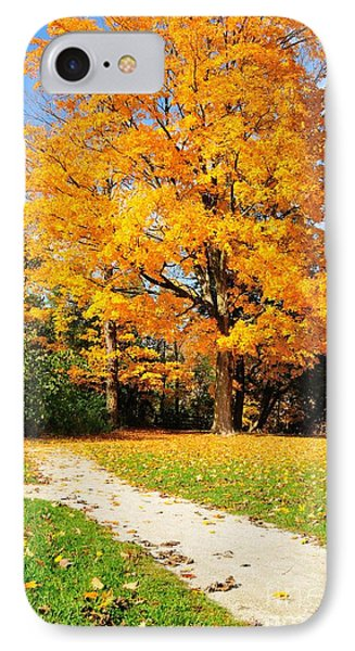 IPhone Case featuring the photograph Tree Of Gold by Joe  Ng