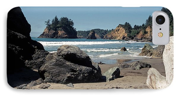 IPhone Case featuring the photograph Trinidad Beach by Sharon Elliott