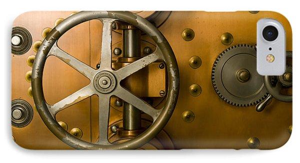 Tumbler Bank Vault Door Phone Case by Adam Crowley
