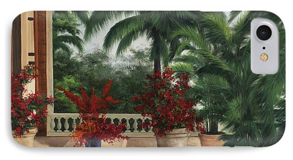 Tuscan Patio IPhone Case