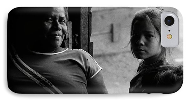 Two Generations IPhone Case by Michael Mogensen