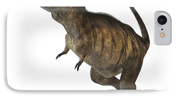 Tyrannosaurus Rex Phone Case by Corey Ford