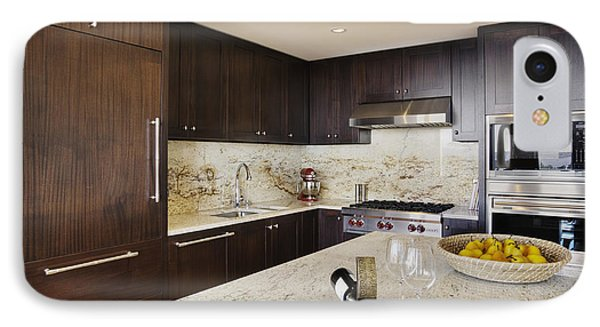 Upscale Kitchen Interior IPhone Case by Andersen Ross