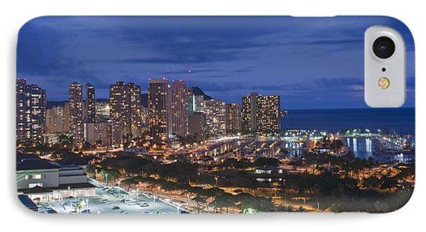 Usa Hi Honoluluwaikiki Skyline IPhone Case