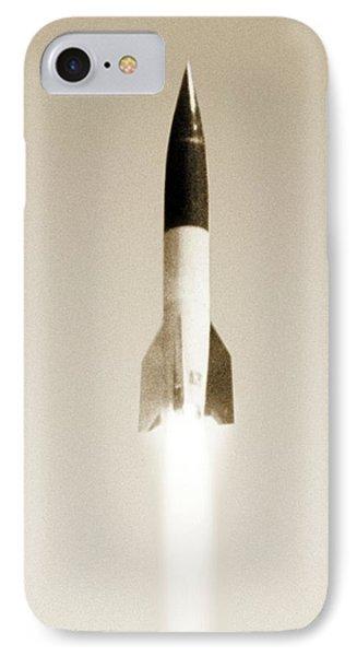 V-2 Rocket Phone Case by Detlev Van Ravenswaay