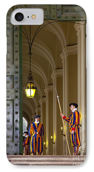 Vatican Entrance Phone Case by Brian Jannsen