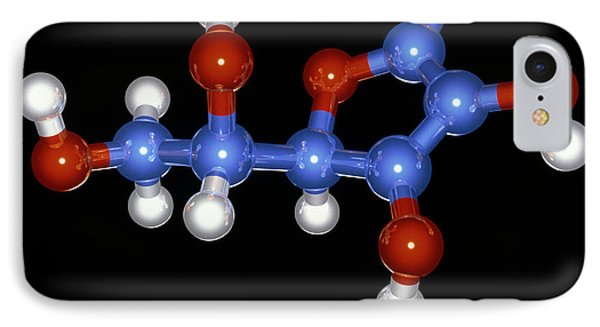 Vitamin C Molecule Phone Case by Laguna Design