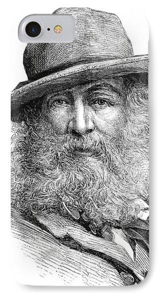 Walt Whitman (1819-1892) Phone Case by Granger