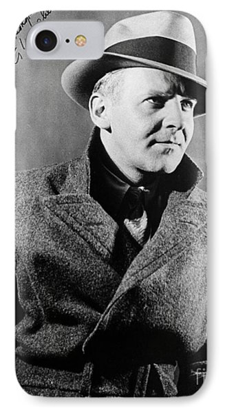 Walter Winchell (1897-1972) Phone Case by Granger